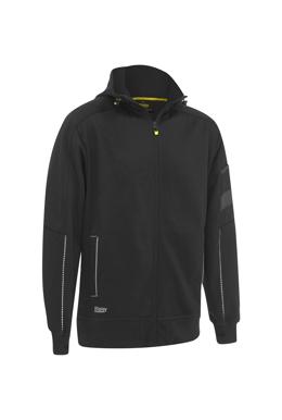 Picture of Bisley Workwear-BK6925-Zip-Front Work Fleece Hoodie