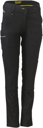 Picture of Bisley Workwear-BPL6015-Womens Stretch Cotton Pants