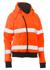 Picture of Bisley Workwear-BKL6819T-Womens Taped Hi Vis Fleece Hoodie