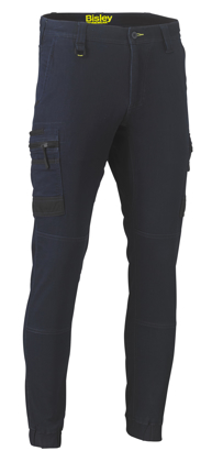Picture of Bisley Workwear-BPC6335-Flex And Move™ Stretch Denim Cargo Cuffed Pants