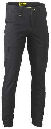 Picture of Bisley Workwear-BPC6028-Stretch Cotton Drill Cargo Cuffed Pants