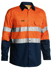 Picture of Bisley Workwear-BS6896EP-3M Taped Cool Lightweight Hi Vis Shirt Long Sleeve Embroidery Pack, 5 Units Per Size