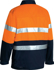 Picture of Bisley Workwear-BK6710T-3M Taped Hi Vis Drill Jacket