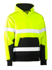 Picture of Bisley Workwear-BK6619T-Taped Hi Vis Fleece Hoodie Pullover