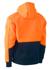 Picture of Bisley Workwear-BK6619-Hi Vis Fleece Hoodie Pullover