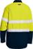 Picture of Bisley Workwear-BS8237T-Tencate Tecasafe® Plus 480 Taped Hi Vis Lightweight Fr Vented Shirt Long Sleeve