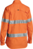 Picture of Bisley Workwear-BL6416T-Womens 3M Taped X Airflow™ Ripstop Hi Vis Shirt - Long Sleeve