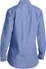 Picture of Bisley Workwear-B76407L-Womens Chambray Shirt - Long Sleeve