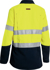 Picture of Bisley Workwear-BL8082T-Womens Tencate Tecasafe® Plus 700 Taped Hi Vis Fr Vented Shirt Long Sleeve