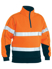 Picture of Bisley Workwear-BK6989T-Taped Hi Vis Fleece Zip Pullover