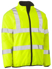 Picture of Bisley Workwear-BJ6350HT-Taped Hi Vis Reversible Puffer Jacket