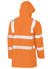 Picture of Bisley Workwear-BJ6964T-Taped Hi Vis Rail Wet Weather Jacket