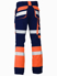 Picture of Bisley Workwear-BP6412T-Taped Biomotion Contrast Hi Vis Pant