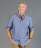 Picture of Gloweave-1713HL-MEN'S CHAMBRAY DOBBY SHIRT - HARDWARE