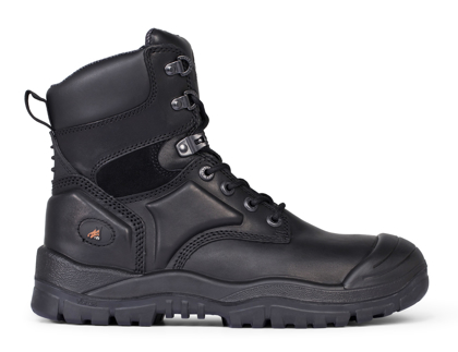 Picture of Mongrel Boots-550020-High Leg Lace Up Boot w/ Scuff Cap