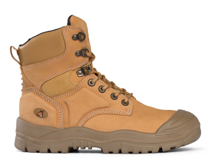 Picture of Mongrel Boots-550050-High Leg Lace Up Boot w/ Scuff Cap