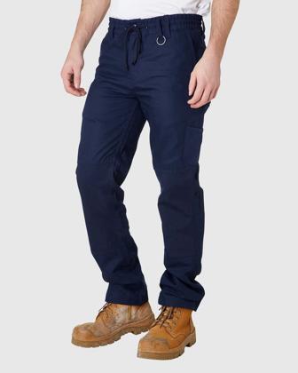 Picture of ELWD Workwear-EWD104-MENS ELASTIC PANT
