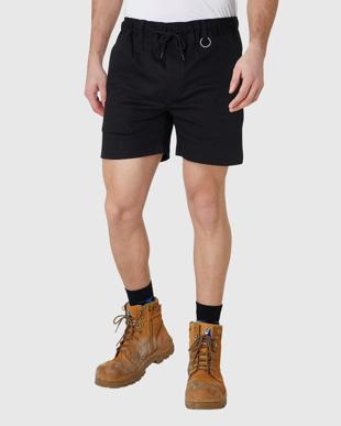 Picture of ELWD Workwear-EWD204-MENS ELASTIC BASIC SHORT