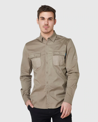 Picture of ELWD Workwear-EWD301-MENS UTILITY SHIRT