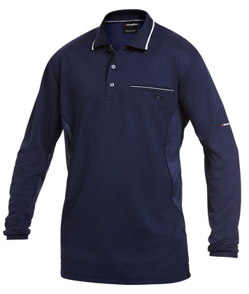 Picture of King Gee-K69790-Workcool Hyperfreeze Polo L/S