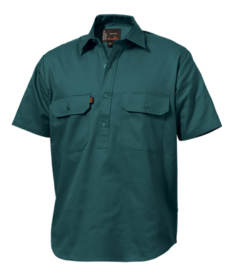 Picture of King Gee-K04060-Closed Front Drill Shirt S/S