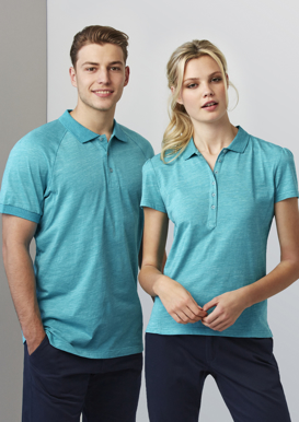 Picture of Biz Collection-P608MS-Mens Coast Polo