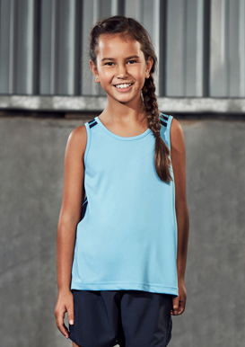 Picture of Biz Collection-MV3111B-Kids Flash Singlet