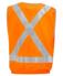 "Picture of Visitec-VVEN-Elastic Waist Vest - D/N with ""X"" back RF tape"