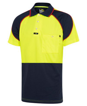 Picture of Visitec-V1002-Short Sleeve  Microfibre Energy Polo - Men's