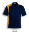 Picture of Bocini-CP1070-Unisex Adults Asymmetrical Polo