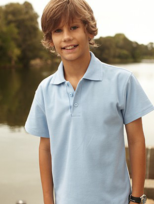 Picture of Bocini-CP822-Kids Basic Polo