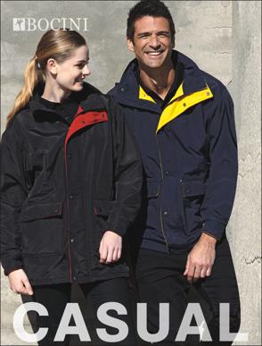 Picture of Bocini-CJ0440-Unisex Adults Casual Wear Jacket