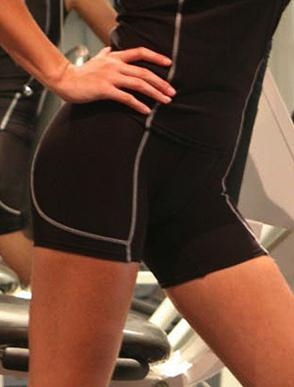 Picture of Bocini-CK932-Performance Wear - Ladies/Kids Cropped Bike Shorts