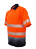 Picture of Bocini-SP0723-Unisex Adults Hi-Vis S/S Sublimated Reflective Polo
