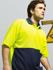 Picture of Bocini-SP0359-Unisex Adults Hi-Vis Poly/Cotton Polo S/S