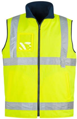 Picture of Syzmik-ZV358-Mens Hi Vis Waterproof Lightweight Vest
