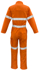 Picture of Syzmik-ZC517-Mens  FR Hoop Taped Overall