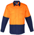 Picture of Syzmik-ZW128-Mens Rugged Cooling Hi Vis Spliced Shirt