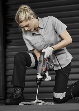 Picture of Syzmik-ZWL120-Womens Lightweight Tradie S/S Shirt