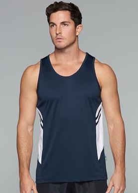 Picture of Aussie Pacific - 1111-Tasman Mens Singlet Shirts