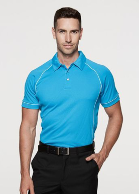 Picture of Aussie Pacific - 1310-Endeavour Mens Polo Shirts