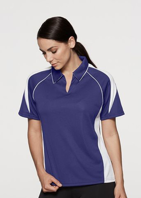 Picture of Aussie Pacific - 2301-Premier Ladies Polo Shirts