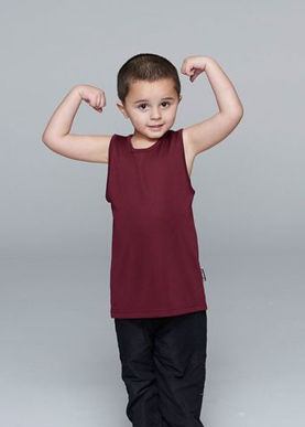 Picture of Aussie Pacific - 3107-Botany Kids Singlet