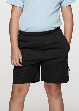 Picture of Aussie Pacific - 3601-Driwear Kids Sports Shorts