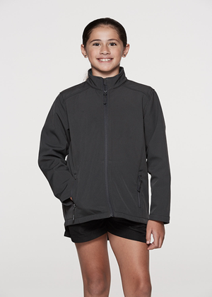 Picture of Aussie Pacific-3512-Kids Selwyn Soft-Shell Jacket