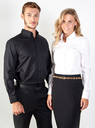 Picture of Identitee-W53(Identitee)-Ladies Long Sleeve Stretch Shirt
