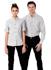Picture of Identitee-W65(Identitee)-Men's Long Sleeve Garment Washed Oxford Shirt
