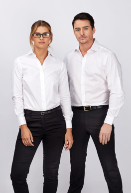 Picture of Identitee-W77(Identitee)-Ladies Dexter 100% Cotton Wrinkle Free Oxford Shirt