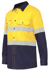 Picture of Hardyakka-Y07740-HI VIS 2 TONE VENTILATED LONG SLEEVE SHIRT WITH TAPE